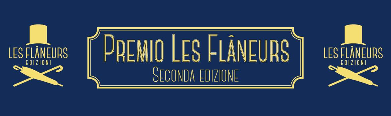 Seconda edizione del Premio letterario Les Flâneurs