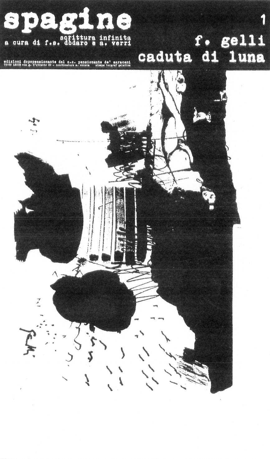 Poesia qualepoesia/23: Lo svuotamento della scrittura. L'asemic writing in Puglia