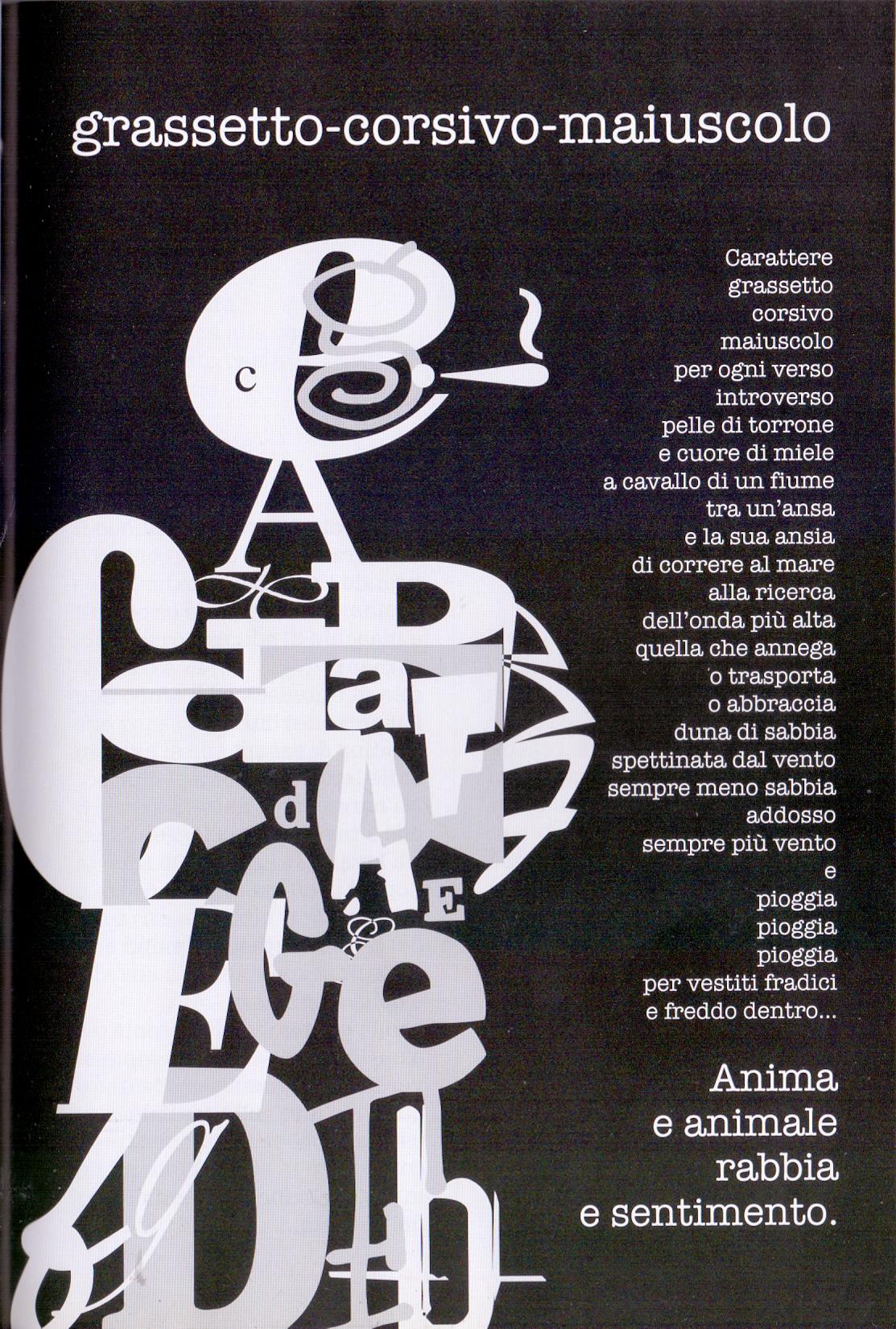 Poesia qualepoesia/34: Beppe Bresolin, elementi di poesia concreta