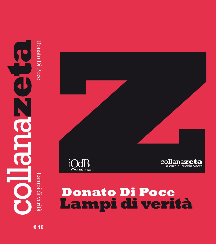 """""""Allora scarabocchio versi al cosmo"""": """"Lampi di verità"""" di Donato Di Poce"""